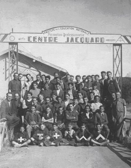 Collège d'enseignement technique en 1945